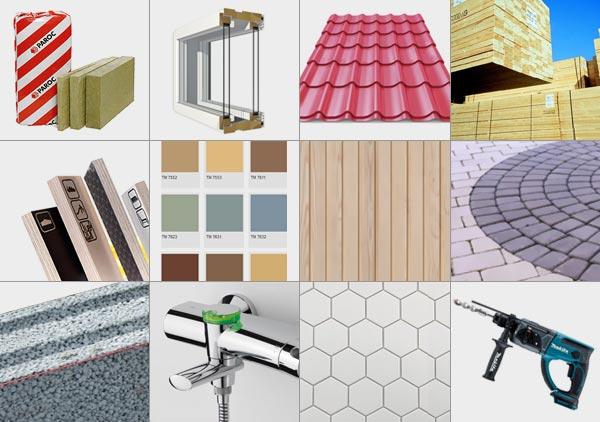 Edustusliike Ilkka Häkli, rakennustarvikkeet, tuotteet, työkalut ja tarvikkeet remonttiin ja rakentamiseen.